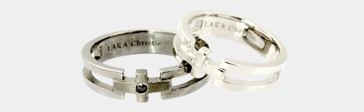 ブランド LARA Christie(ララクリスティー)のクロノス ペアリングの全体像。