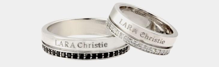 ブランド LARA Christie(ララクリスティー)のトラディショナル ペアリングの全体像。