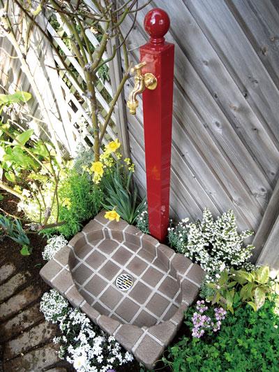 水栓柱 BNガーデン立水栓 ワインベリー ボールタイプ
