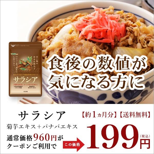 【平成最後の決算SALE】サラシア 約1ヶ月分が199円