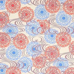 ブックカバー(小)文庫判 新書判 キャンバス生地 壁紙 <seisuke88>和柄|seisuke88-kyoto|15