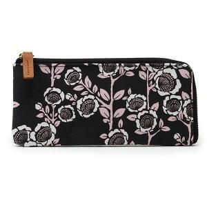 キャンバス スリム 横長 薄型 財布 L型ファスナー<seisuke88>和柄 seisuke88-kyoto 05