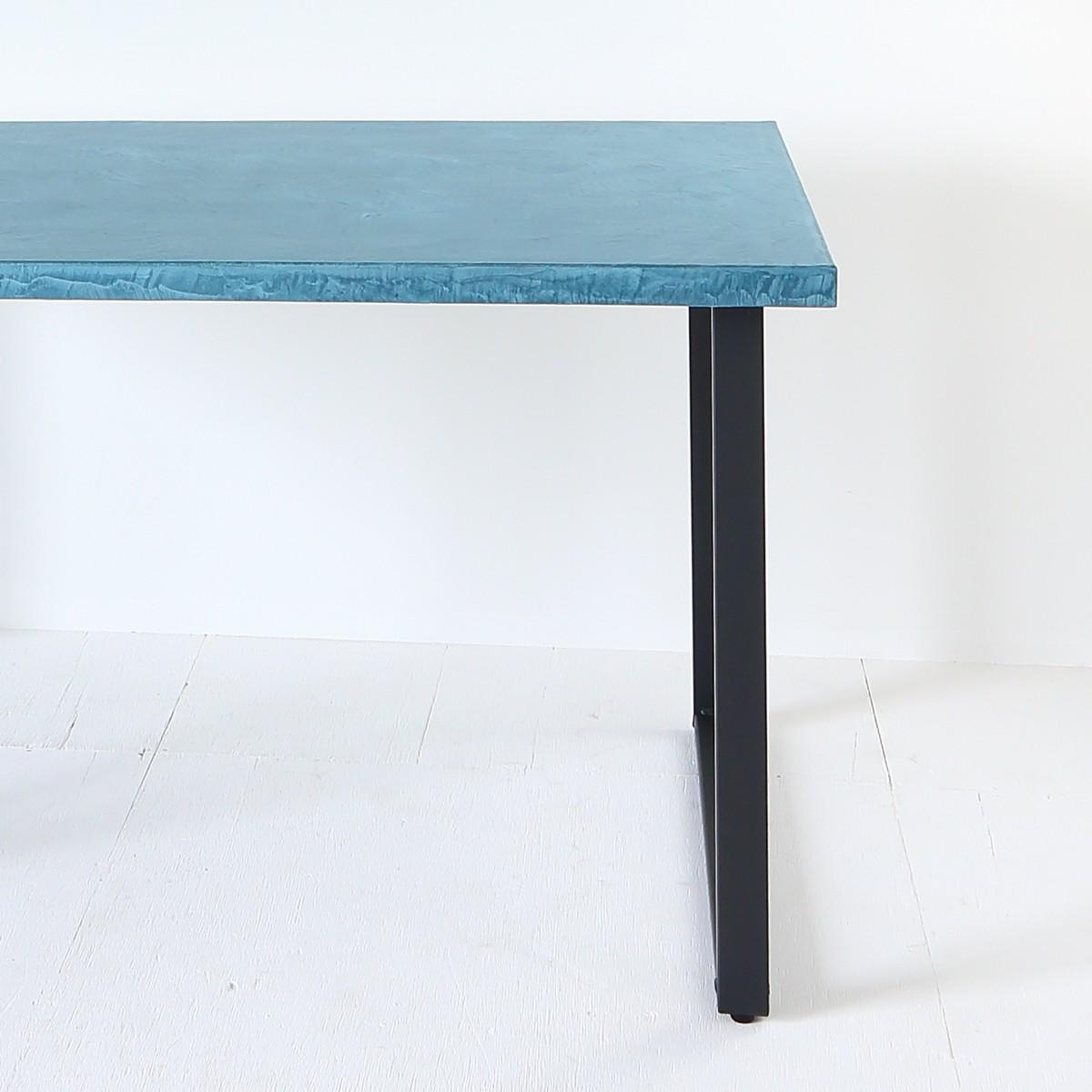 ダイニングテーブル脚スチールブラック