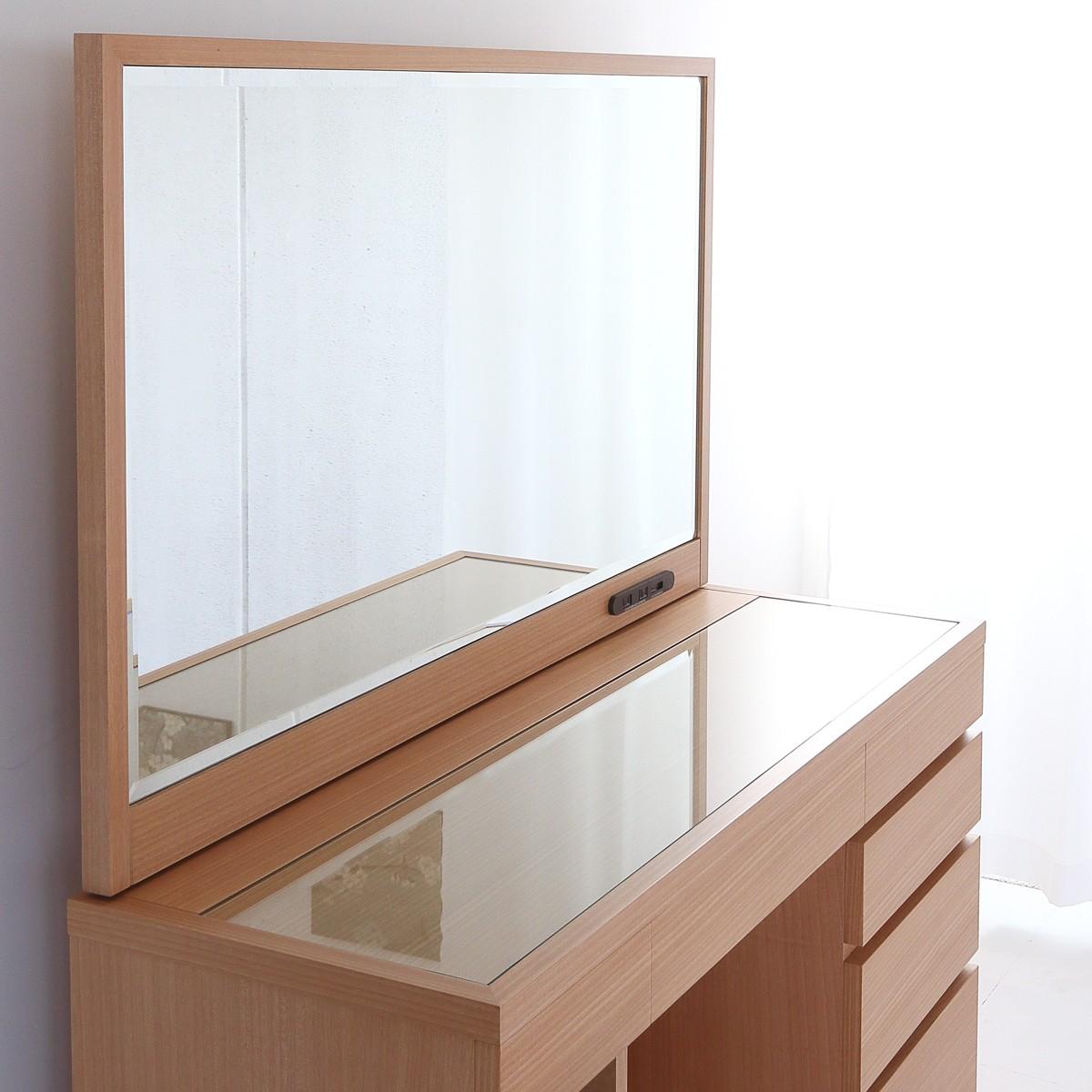一面鏡の高級ドレッサー、高級家具職人