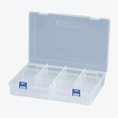 リングスター・PC工具箱・RP-300‐クリア・作業工具・工具箱・プラスチック製・DIYツールの画像