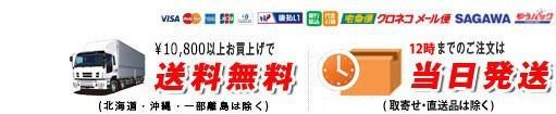 1万円以上ご購入で送料無料・16時までのご注文は当日発送