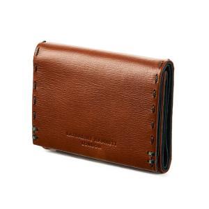キャサリンハムネット 三つ折り財布 ミニ財布 本革 レザー ミニウォレット メンズ レディース KATHARINE HAMNETT 490-58702 ctpr カバンのセレクション
