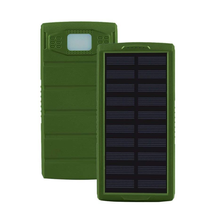 モバイルバッテリー ソーラーモバイルバッテリー 24000mAh 大容量 太陽光充電 パワーバンク ソーラー充電器 スマホ アウトドア iPhone Android|selectshoptoitoitoi|20