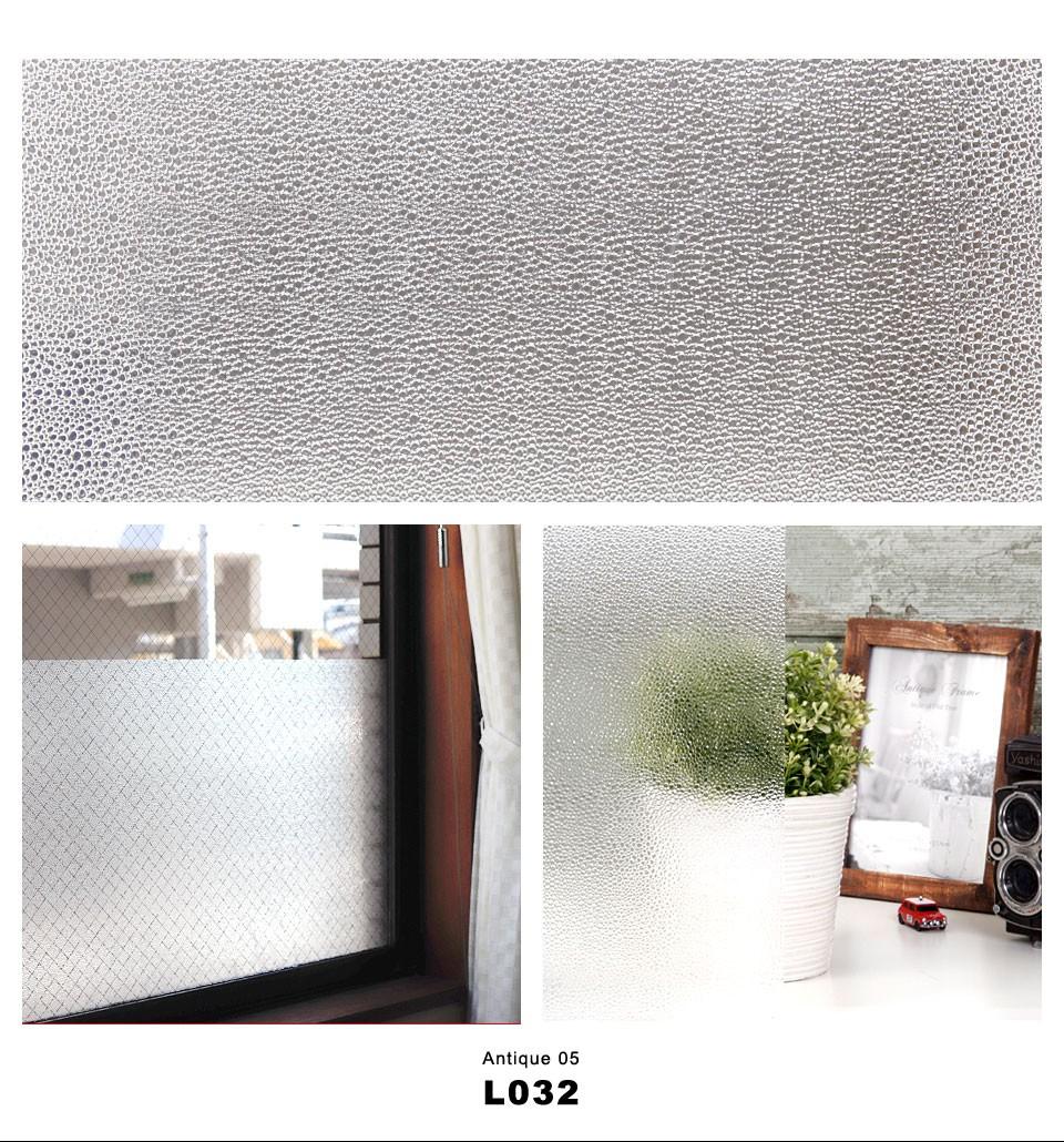 窓ガラスフィルム シート 目隠し レトロ・アンティーク柄