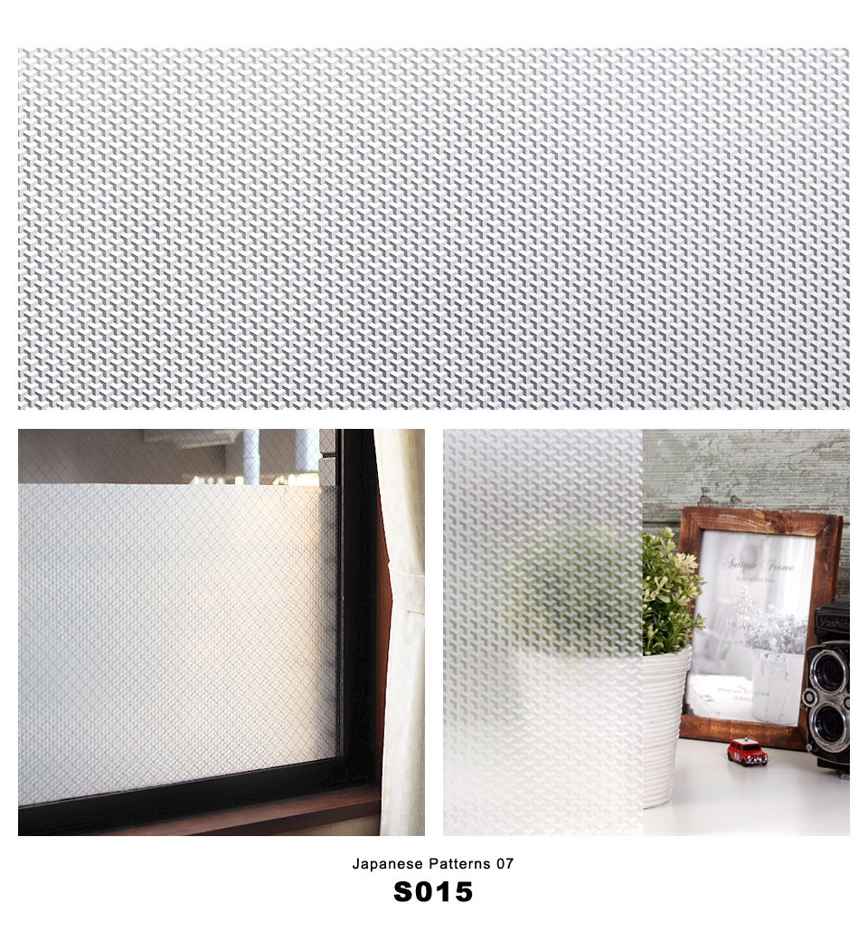 窓ガラスフィルム シート 目隠し 和柄