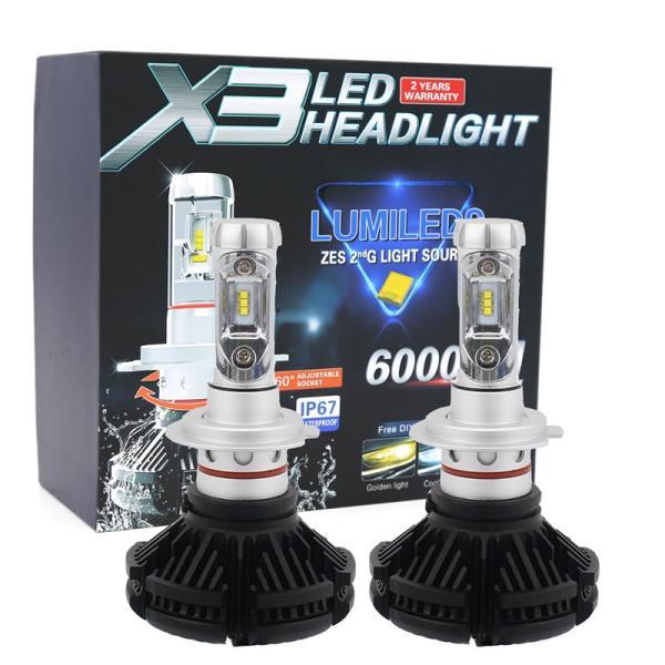 LEDヘッドライトフォグランプ H4 H1 H3 H7 H8/H11/H16 HB3 HB4車検対応 PhilipsZES2チップ 50W 3000K/6500K/8000K変色可能 12000LM 2本セット|sendaizuihouen-store|11