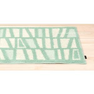キッチンマット 北欧 HAUSKA ネリオ 約50×210cm ブルー/グレー/イエロー|senkomat|12