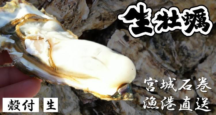 三陸 石巻 生牡蠣