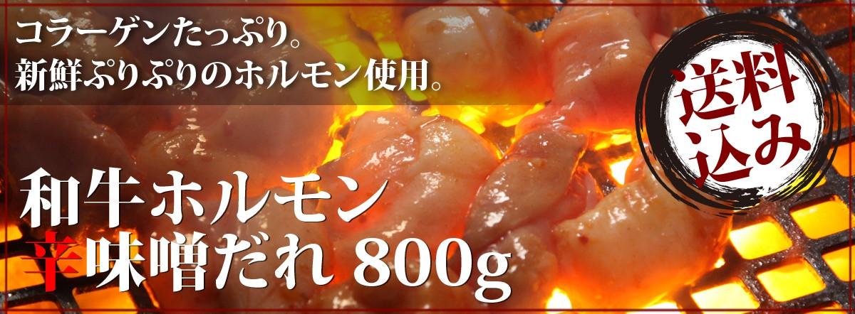 和牛ホルモン辛味噌ダレ800g