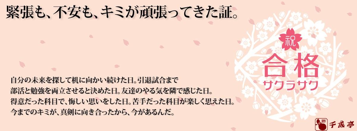 合格・入学祝い特集
