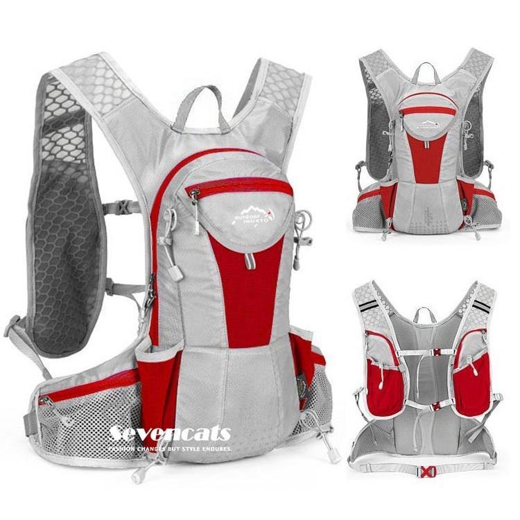 ランニングバック サイクリングバック ハイドレーション サイクルバッグ ジョギング 軽量 ユニセックス バッグ リュック アウトドア 送料無料|sevencats|24