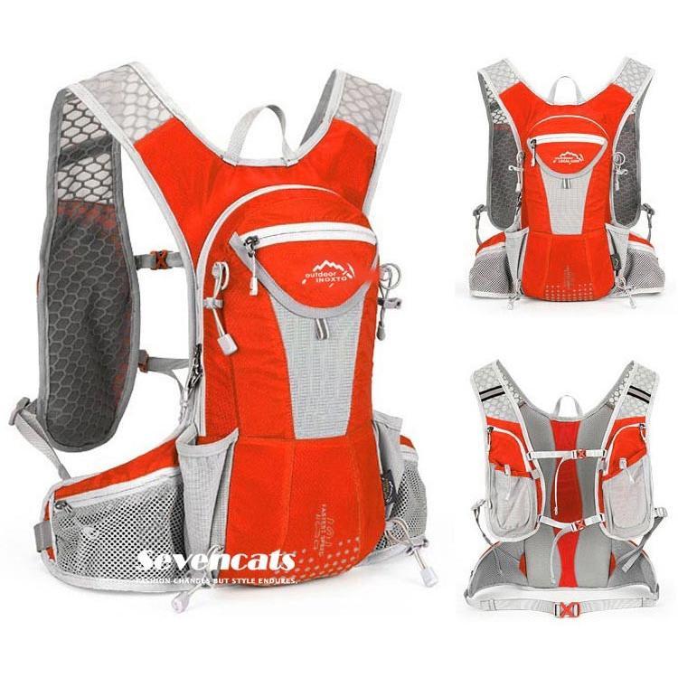 ランニングバック サイクリングバック ハイドレーション サイクルバッグ ジョギング 軽量 ユニセックス バッグ リュック アウトドア 送料無料|sevencats|25