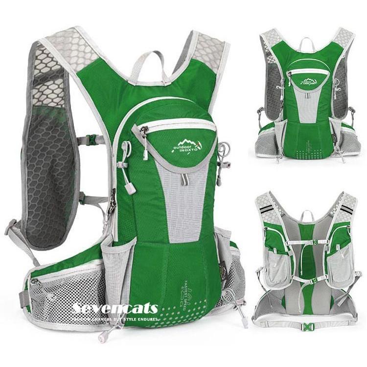 ランニングバック サイクリングバック ハイドレーション サイクルバッグ ジョギング 軽量 ユニセックス バッグ リュック アウトドア 送料無料|sevencats|32