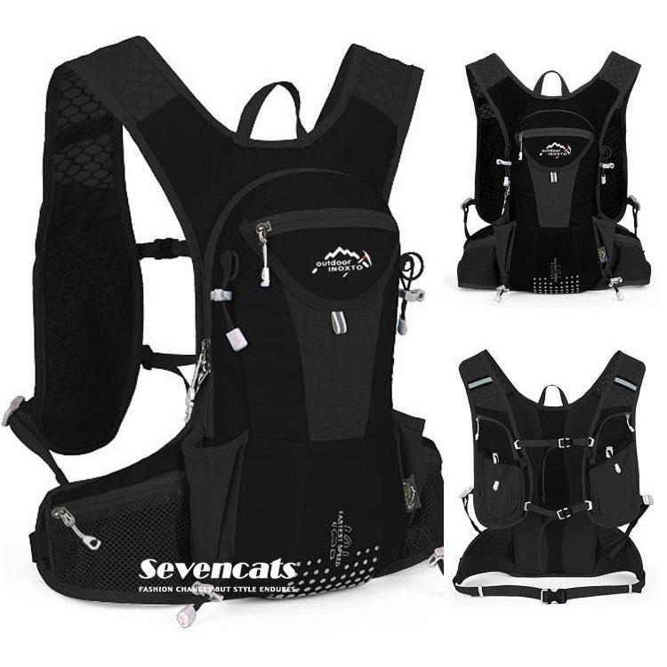 ランニングバック サイクリングバック ハイドレーション サイクルバッグ ジョギング 軽量 ユニセックス バッグ リュック アウトドア 送料無料|sevencats|30