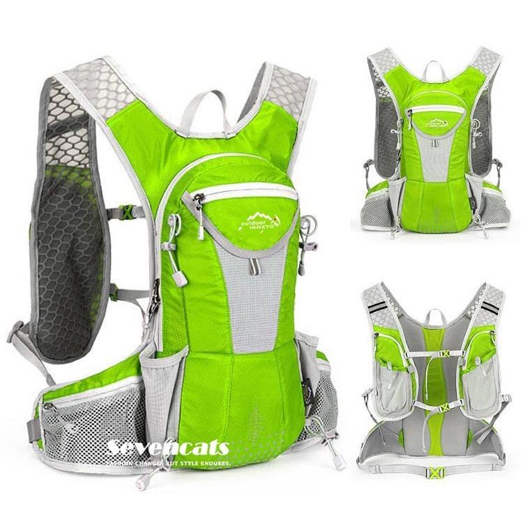 ランニングバック サイクリングバック ハイドレーション サイクルバッグ ジョギング 軽量 ユニセックス バッグ リュック アウトドア 送料無料|sevencats|29