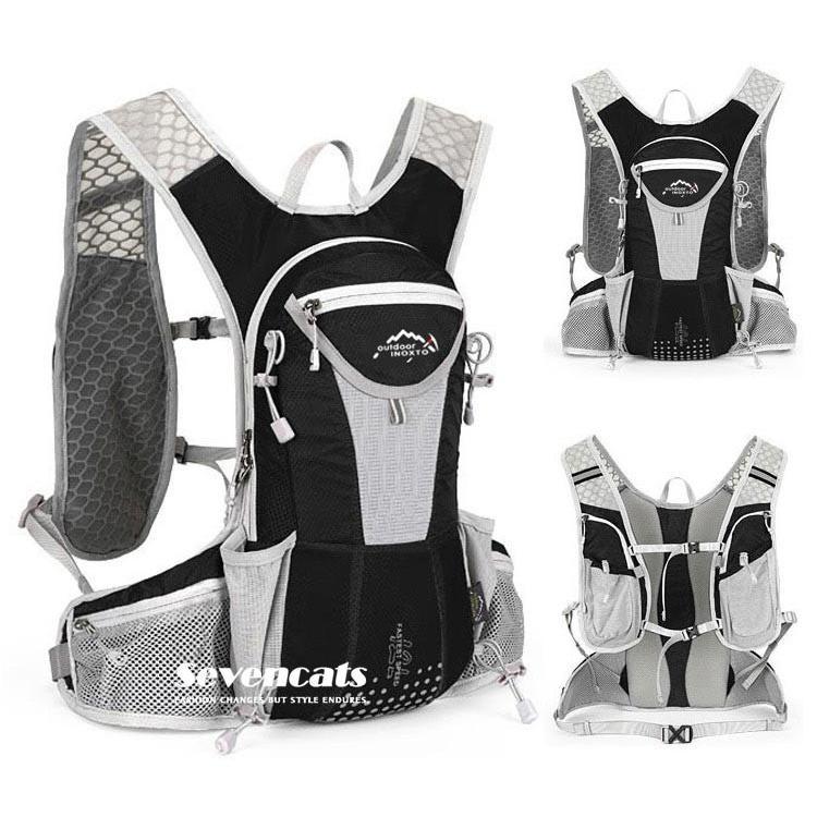 ランニングバック サイクリングバック ハイドレーション サイクルバッグ ジョギング 軽量 ユニセックス バッグ リュック アウトドア 送料無料|sevencats|28