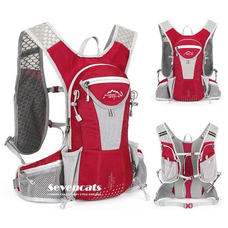 ランニングバック サイクリングバック ハイドレーション サイクルバッグ ジョギング 軽量 ユニセックス バッグ リュック アウトドア 送料無料|sevencats|23