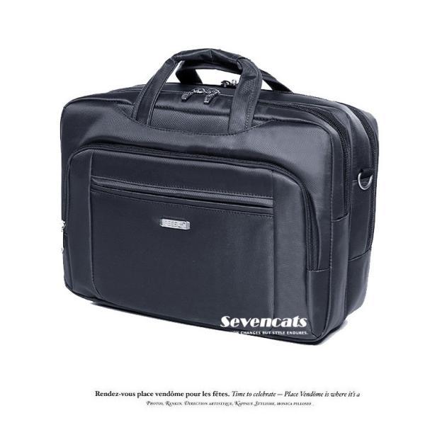 ビジネスバックメンズ3way多機能 大容量防水  通勤 A4 斜めがけ 手提げ ハンドバッグ カジュアルバッグ ショルダー|sevencats|18