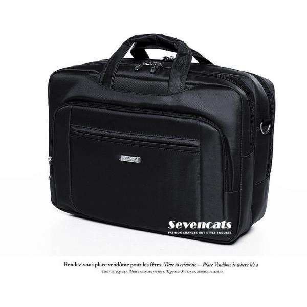 ビジネスバックメンズ3way多機能 大容量防水  通勤 A4 斜めがけ 手提げ ハンドバッグ カジュアルバッグ ショルダー|sevencats|17
