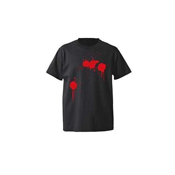 ハロウィン Tシャツ 衣装 大人 仮装 コスプレ tシャツ メンズ レディース (選べる4色 ドッキリ仮装血糊シャツ)おもしろ プレゼント ペア ファミリー|shalemon|08