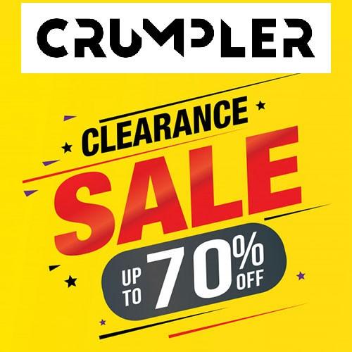 CRUMPLER SALE