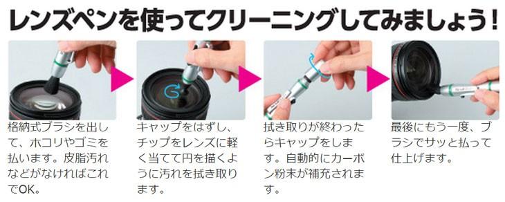 レンズペン使い方