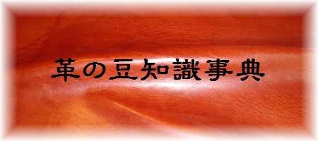 革の豆知識