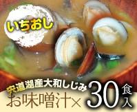 即席みそ汁30食(送料込)
