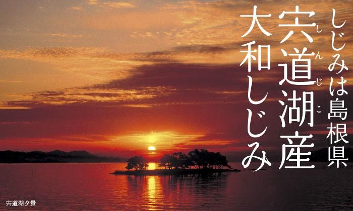 しじみは島根県宍道湖産大和しじみ