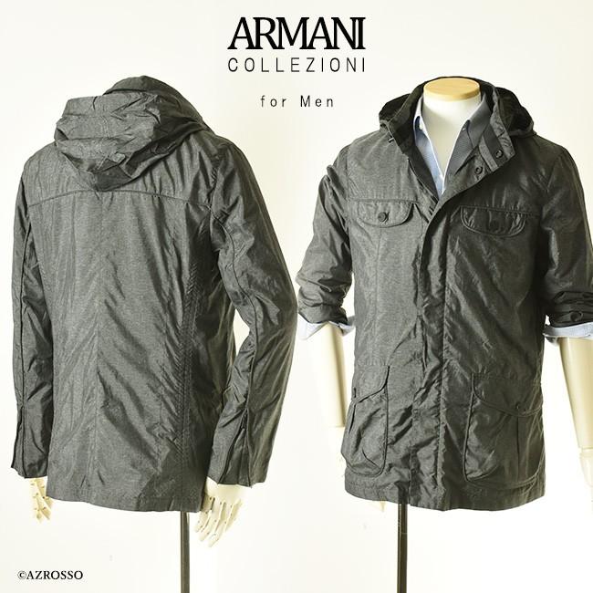 ジップアップブルゾン 【ARMANI COLLEZIONI】アルマーニ コレツィオーニ モデル画像2