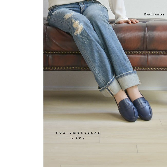 a0f94c00c91392 商品詳細. カジュアルに似合う革靴の代表ローファーシューズをそのまま、イギリス レインアイテム名門ブランド FOX UMBRELLAS( ...