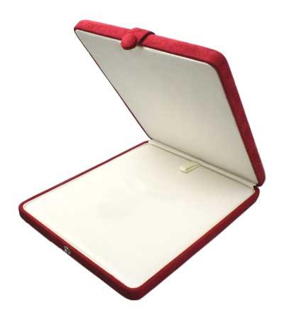 真珠ネックレスケース パールキーパー ネックレス ケース 赤 真珠科学研究所が開発監修