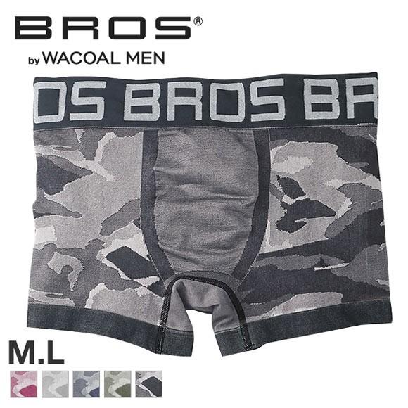 (ワコール)Wacoal (ブロス)BROS SOFT FIT BOXERS 立体成型 フィット ボクサーパンツ ML 前閉じ ノーマル 快適