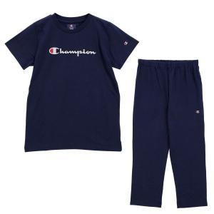 (チャンピオン)Champion レディース 半袖 Tシャツ 7分丈パンツ 上下セット ルームウェア パジャマ スクリプトロゴ|shirohato|17