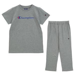 (チャンピオン)Champion レディース 半袖 Tシャツ 7分丈パンツ 上下セット ルームウェア パジャマ スクリプトロゴ|shirohato|16