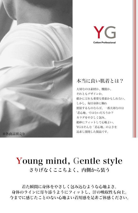 (グンゼ)GUNZE (ワイジー)YG シンプルコットンセミビキニブリーフ
