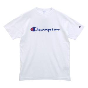 【メール便(20)】 (チャンピオン)Champion メンズ レディース ベーシック ロゴ 半袖 Tシャツ C3-P302 shirohato 10