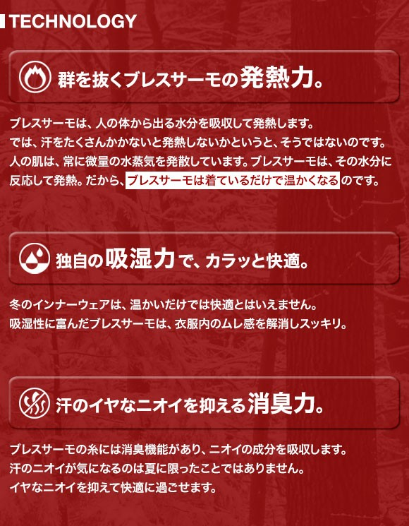 (ミズノ)MIZUNO Mens ブレスサーモ ライトウェイト ハイネック長袖シャツ メンズ