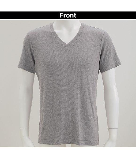 (エムエックスピー)MXP MENS リブドライ RIB DRY Vネック Tシャツ