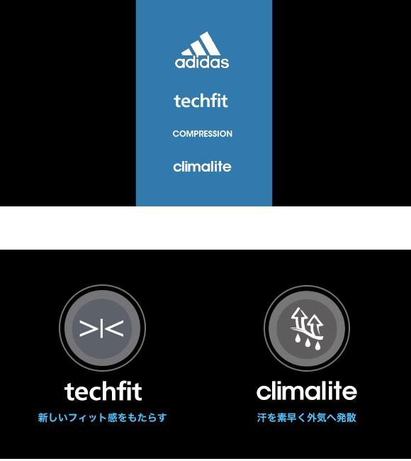 (アディダス)adidas テックフィット BASE ショートタイツ