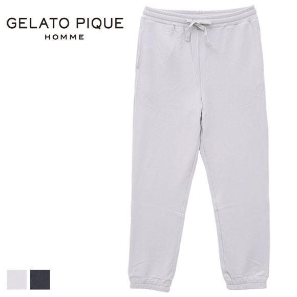(ジェラートピケ オム)GELATO PIQUE HOMME メンズ スウェットハーフパンツ ジェラピケ ルームウェア パジャマ