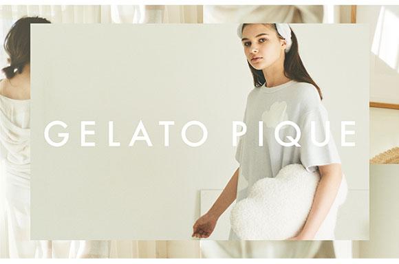 (ジェラートピケ)gelato pique レディース ギンガムモダールシャツ ジェラピケ パジャマ ルームウェア