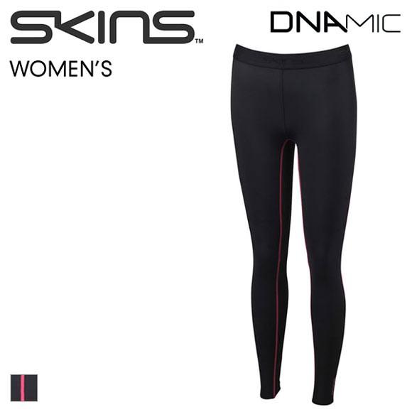 (スキンズ)SKINS A200 DNAmic ロングタイツ レディース スポーツ 着圧 吸汗速乾 UVカット