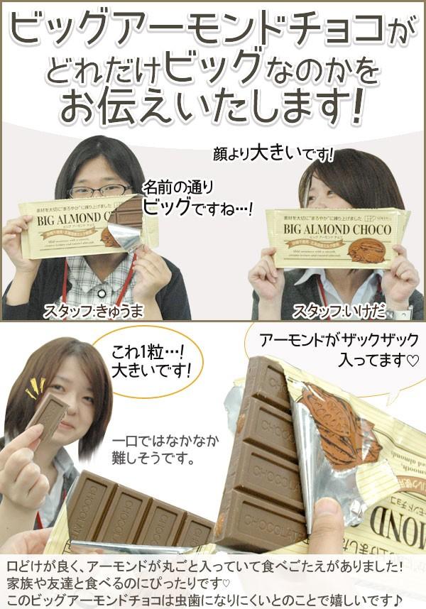 ビッグアーモンドチョコレート創健社