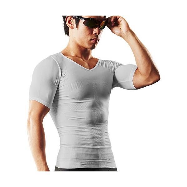加圧シャツ メンズ 加圧インナー vネック 男性用 スパルタックス コンプレッションウェア|shizenshop|22
